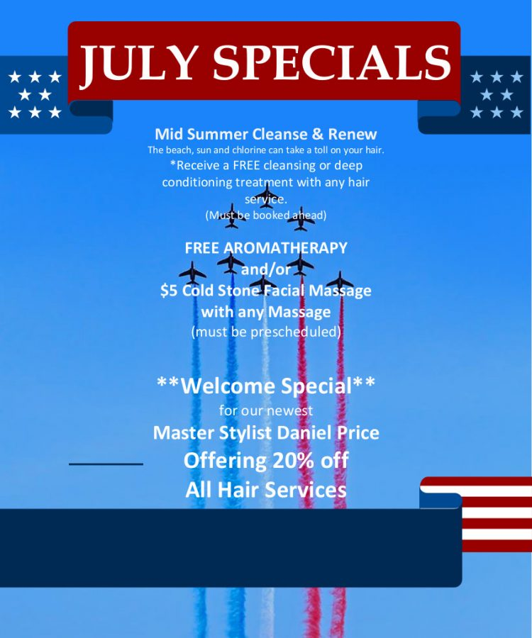 July 2021 Specials